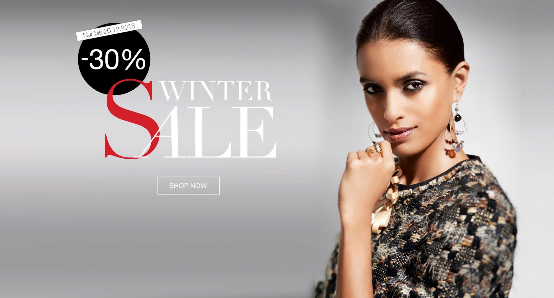 30% auf die gesamte Herbst/Winter-Kollektion