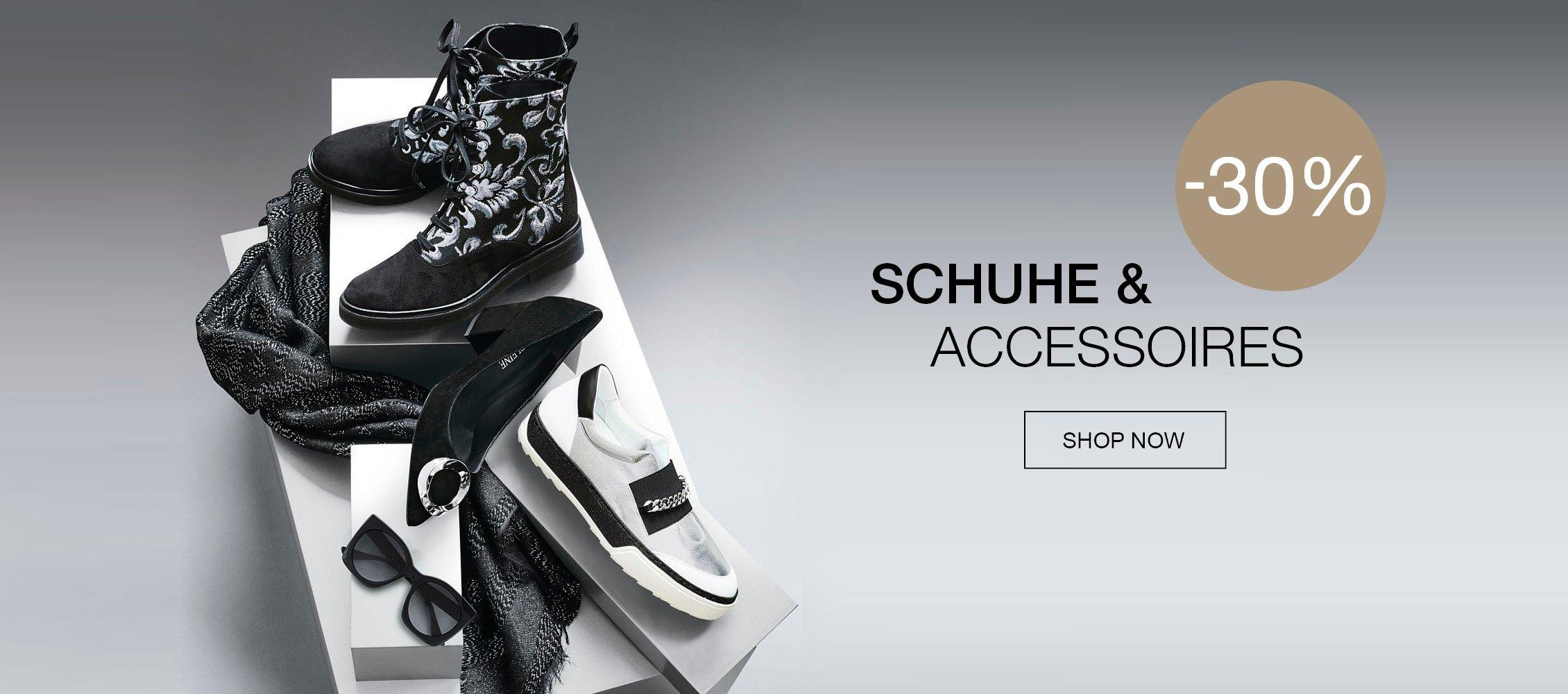 30% auf Schuhe und Accessoires